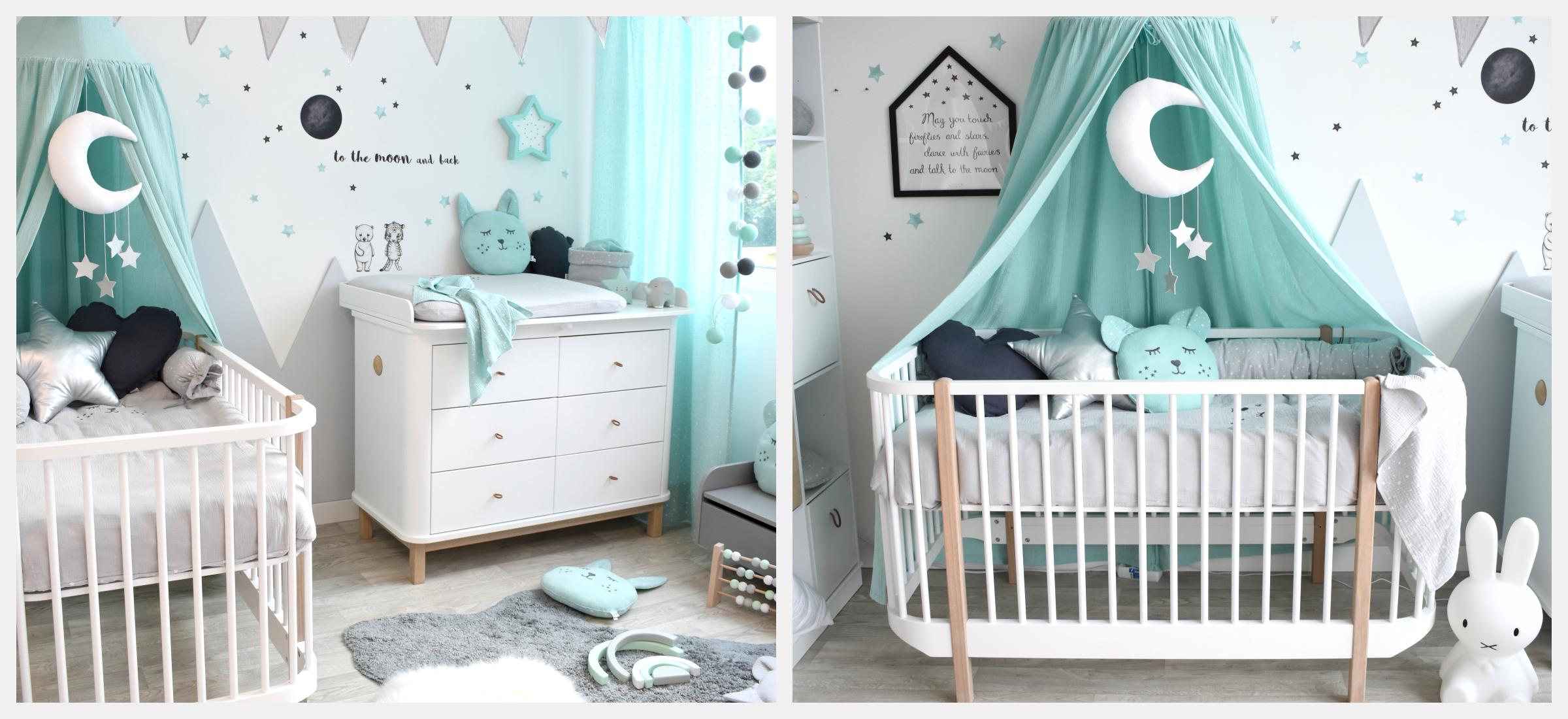 Babyzimmer Mit Bergen In Mint Grau Bei Fantasyroom Online Kaufen