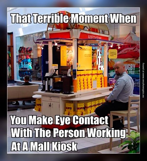 The worst that happens in a mall