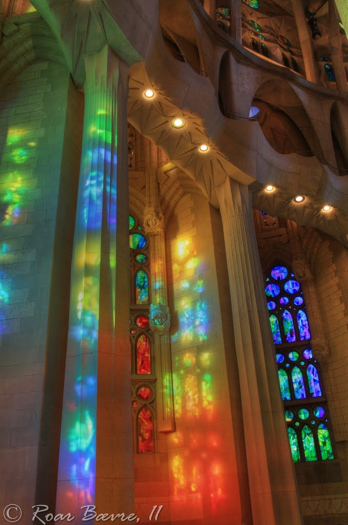 sagrada familia interior Google Search Barcelona Pinterest