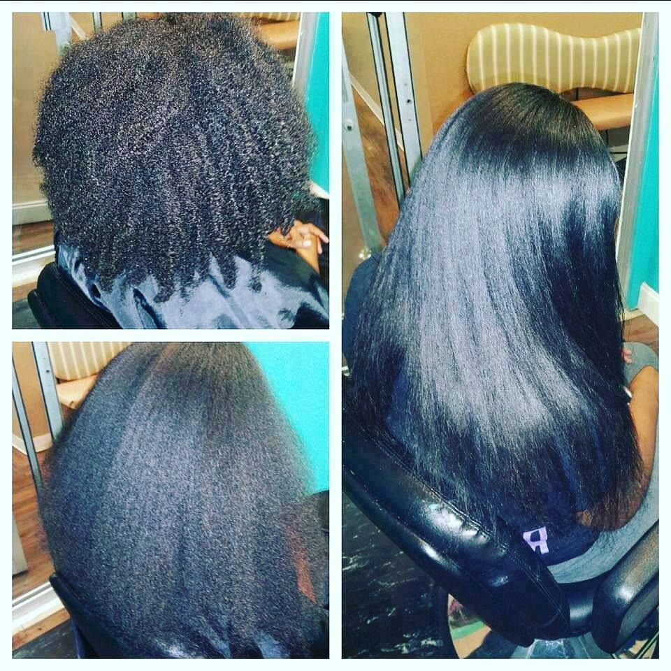 Straight perm for thick hair - Do You Have Thick Hair Our Balance Line Is Perfect