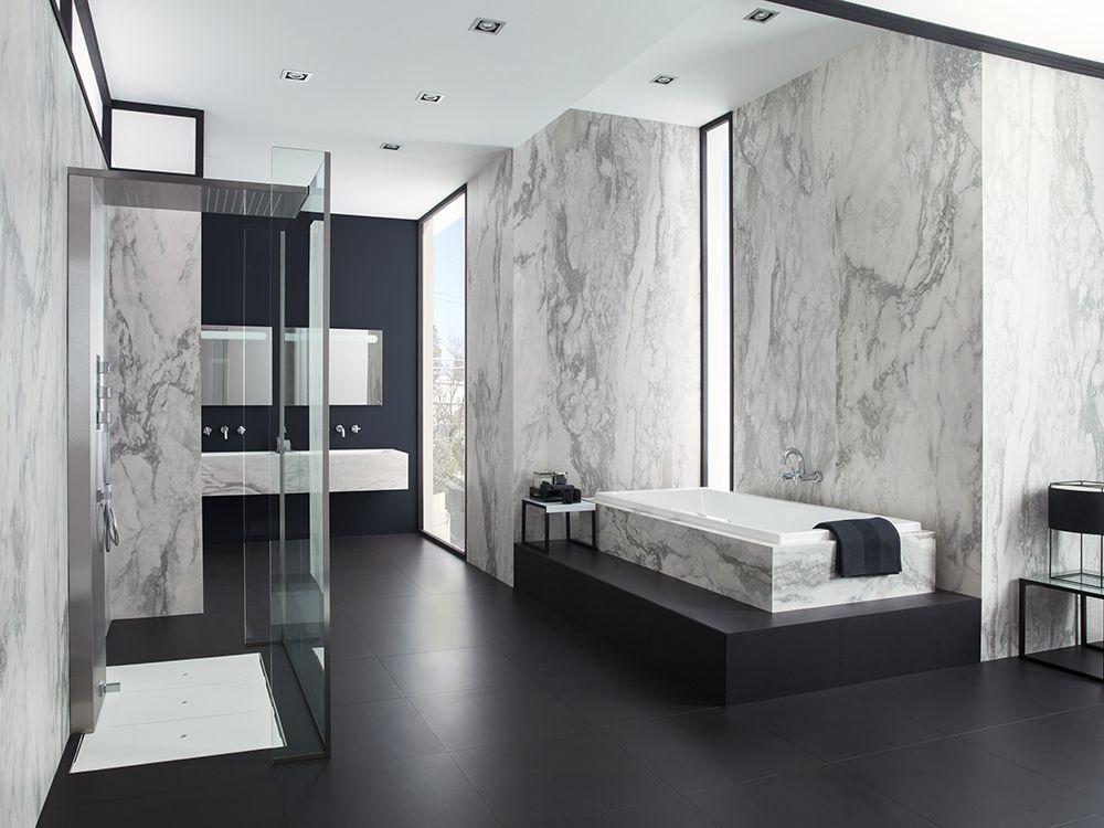 Nvy White Nature Wall Tiles X Light Extra Light Amp Thin Porcelain White Marble Bathrooms Black Floor Tiles Bathroom Decor
