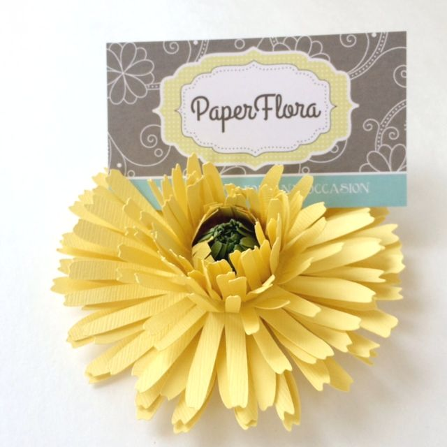 Paper Flowers for Weddings, Events Home Decor, DIY Templates and Pre ...