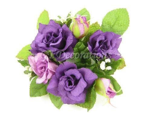 6x Artificial Silk Flower Rose with Buds Candle Rings (Purple) from GT Decorations by GT Decorations, http://www.amazon.co.uk/dp/B005FLXGL4/ref=cm_sw_r_pi_dp_M-AVtb0FBR2GZ