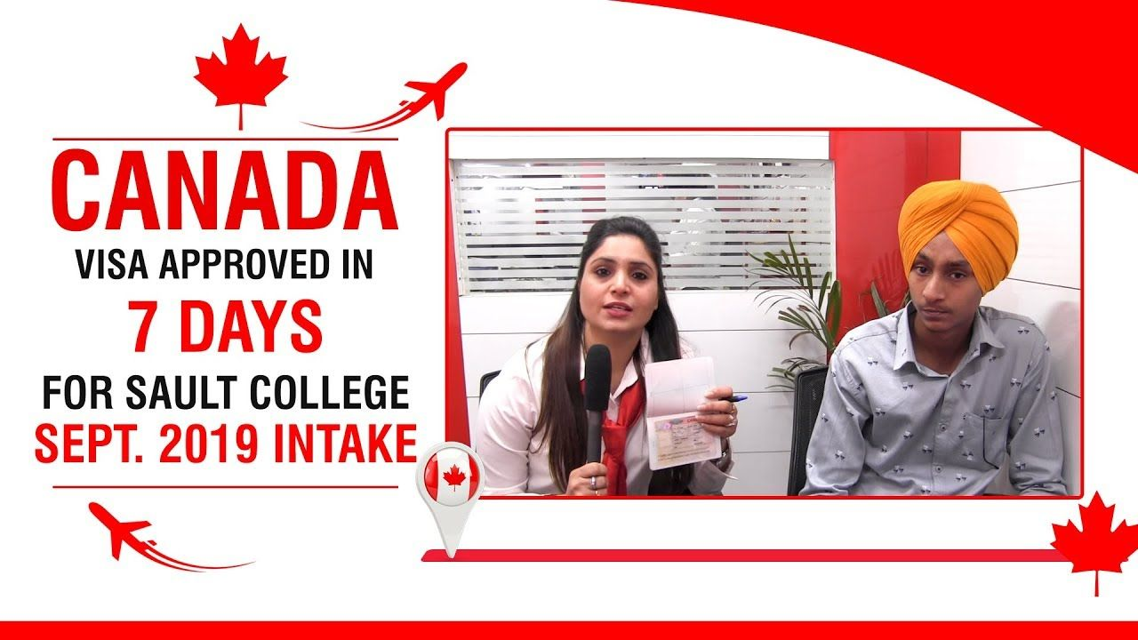 Canada Student Visa Approved in Just 7 Days For Sault