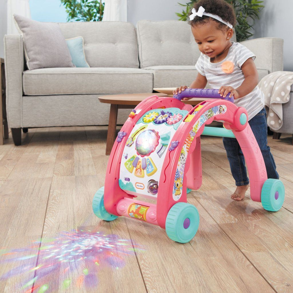 Light N Go 3 In 1 Activity Walker Pink Special Needs Toys