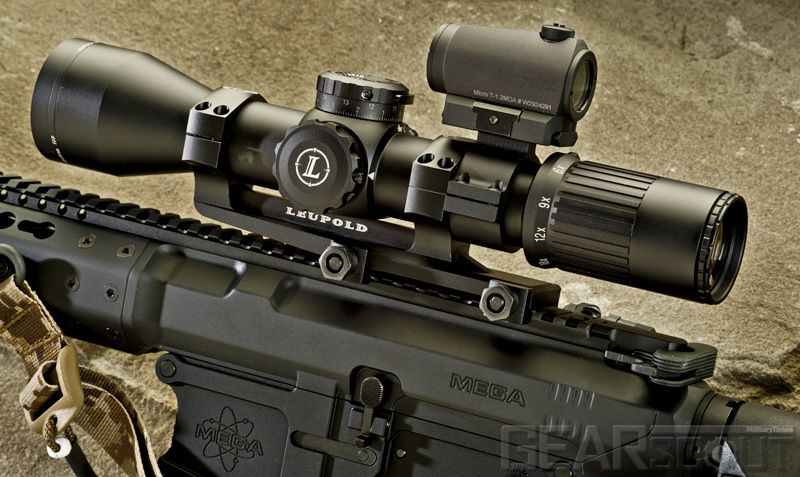 Leupold Mark 6 Dagr M5c2 3 18x44mmscope With A 2 Moa Aimpoint