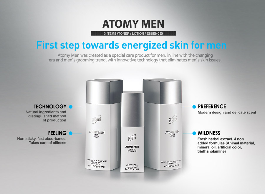 Atomy Man Mens Skin Care Perfume And Cologne Skin Care