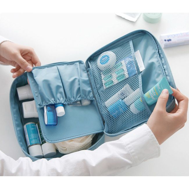 8ba5068ce2 Monopoly Travel mesh multi pouch bag packing aids ver.2