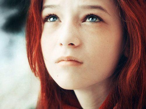 red hair blue eyes young girl kids pinterest green. Black Bedroom Furniture Sets. Home Design Ideas