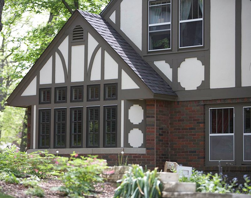 Get the look tudor style in 2019 coll tudor revival - Tudor revival exterior paint colors ...