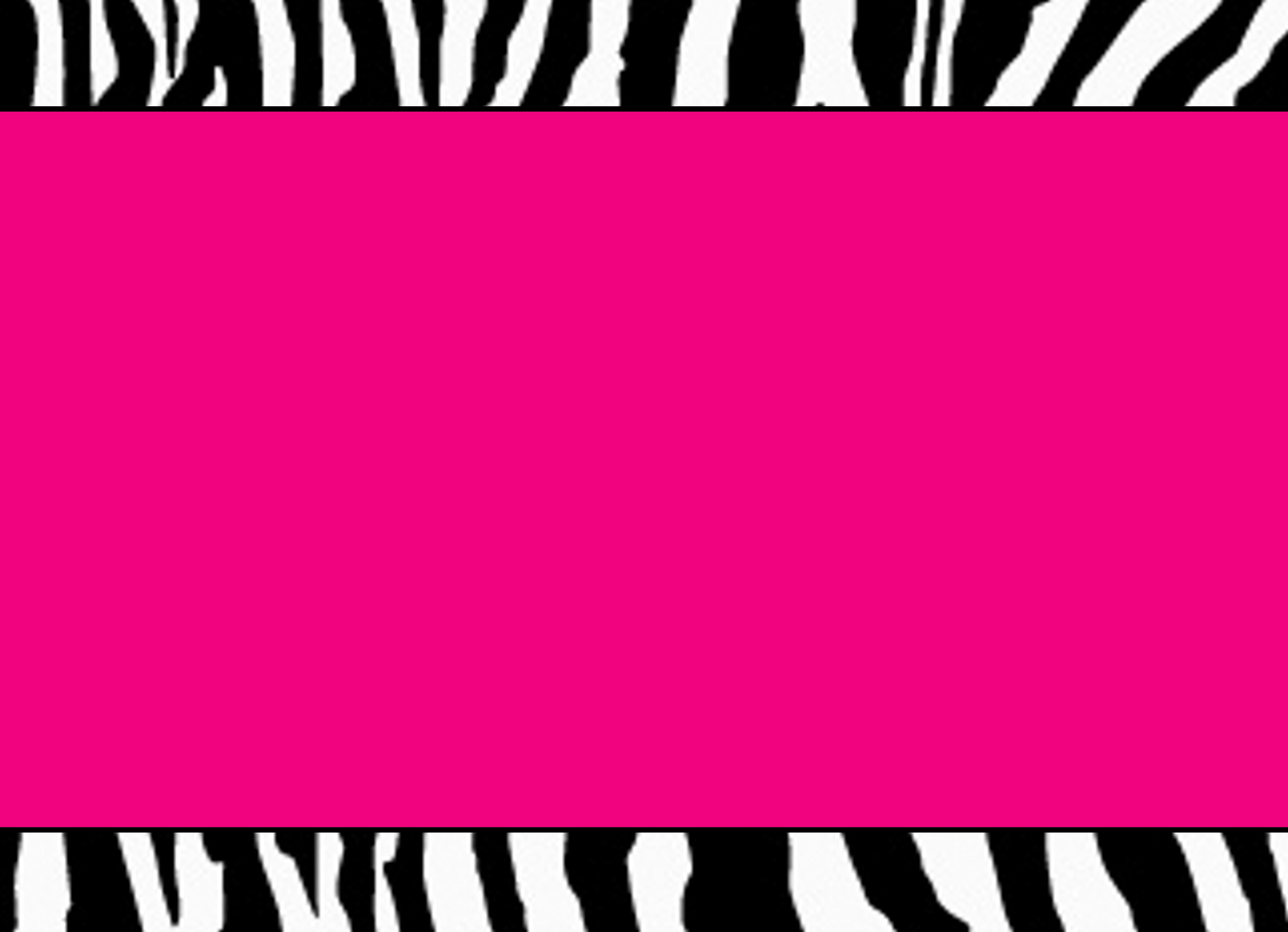 Pink Zebra Label Zebra Party Zebra Labels Hot Pink Zebra