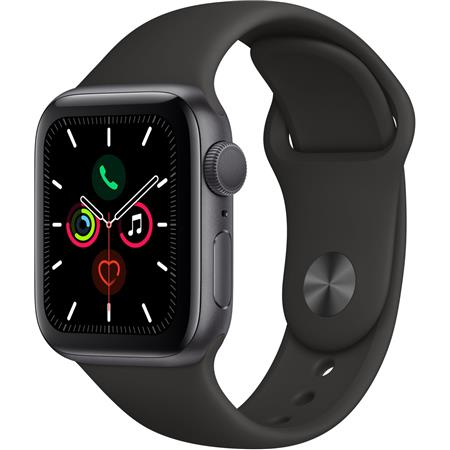 Apple Watch Series 5 GPS, 40mm Space Gray Aluminum Case