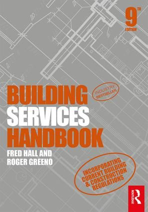 Building Services Handbook 9th Edition Paperback Book Cover Building Construction Architecture Books Construction