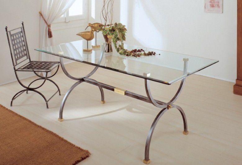 Tavolo Achille 5214 tavoli cristallo fissi - tavoli | Un AMORE di ...