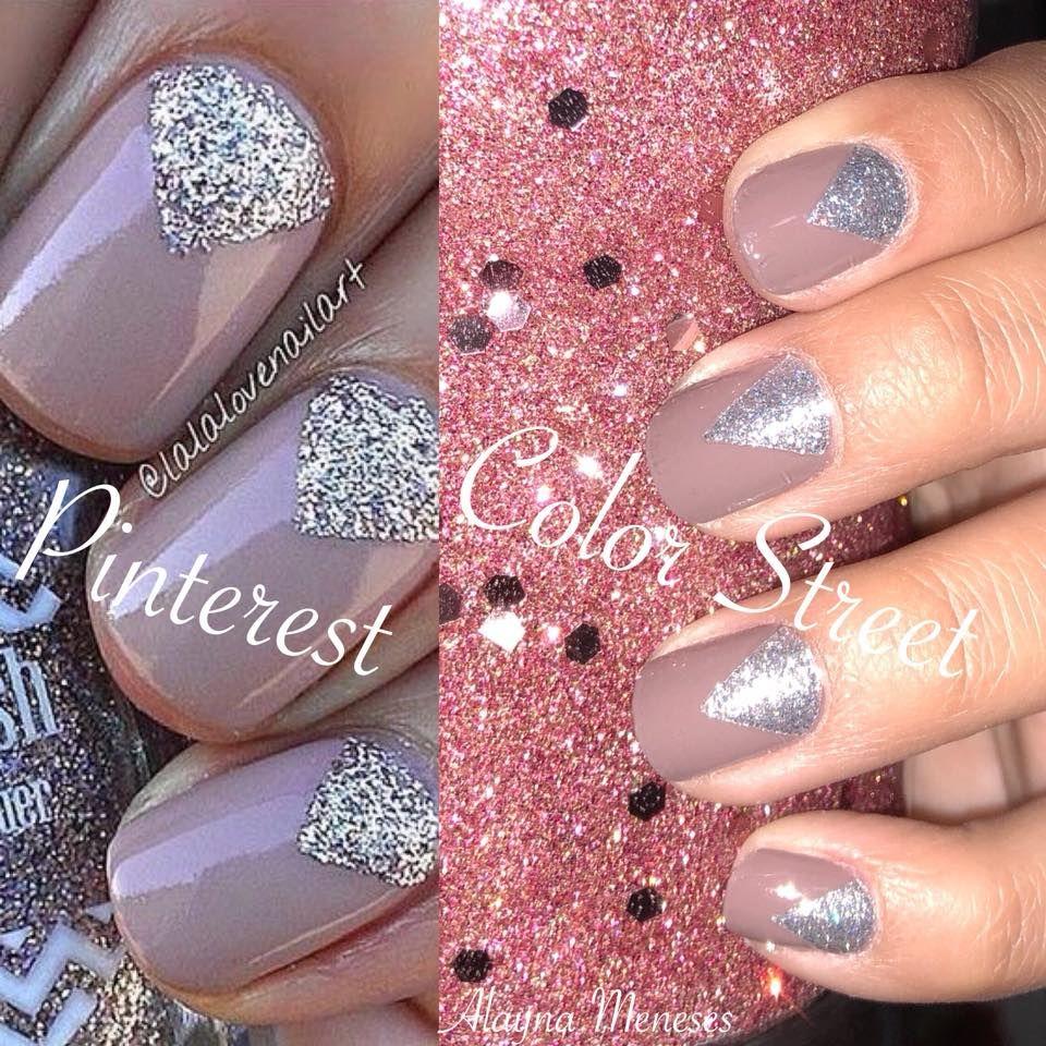 Pinterest Vs Color Street Nailed It Color Street Nails Color Street Nails Inspiration