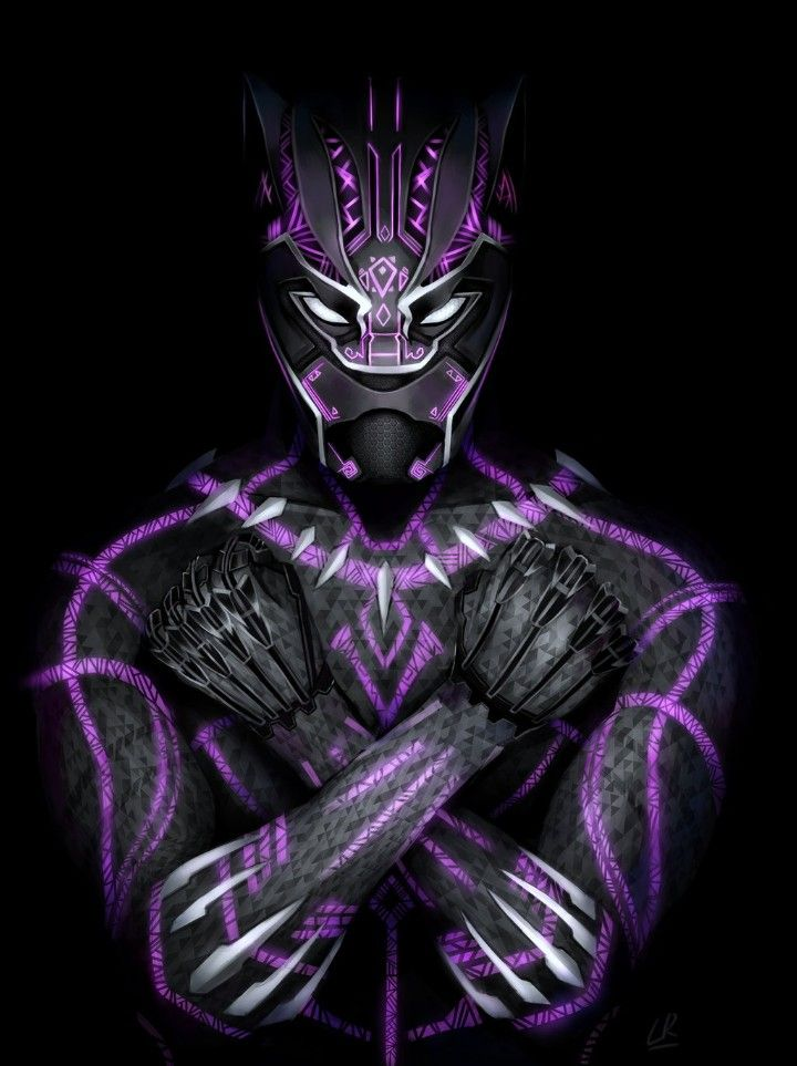 Vector Logo Marvel Black Panther