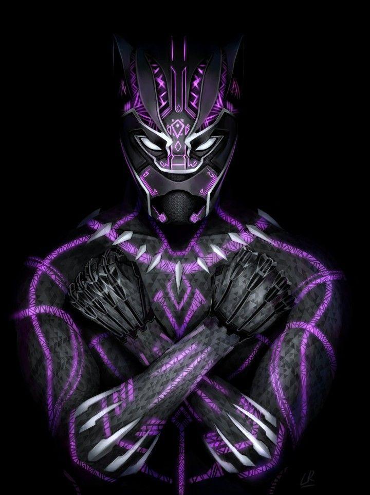 MCU Black Panther Art; Wakanda Forever | Black Panther ...