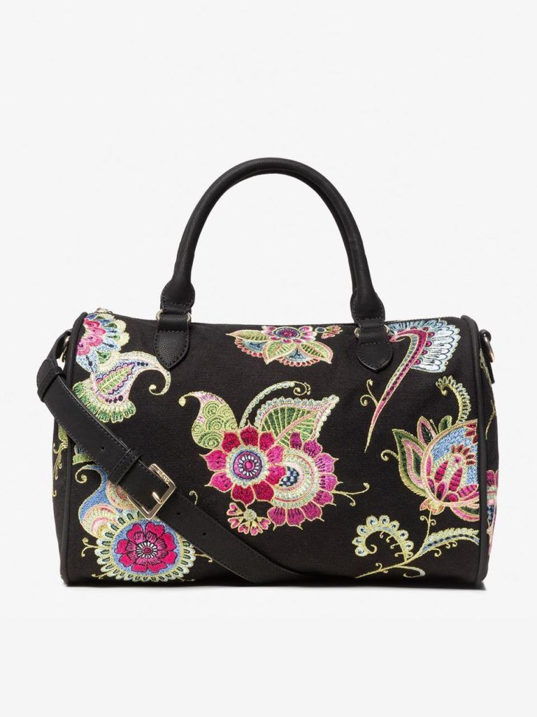 Desigual Embroidered Handbag
