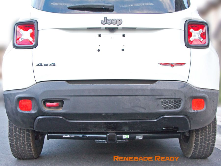 Undermount Receiver Hitch For Jeep Renegade Jeep Renegade Jeep