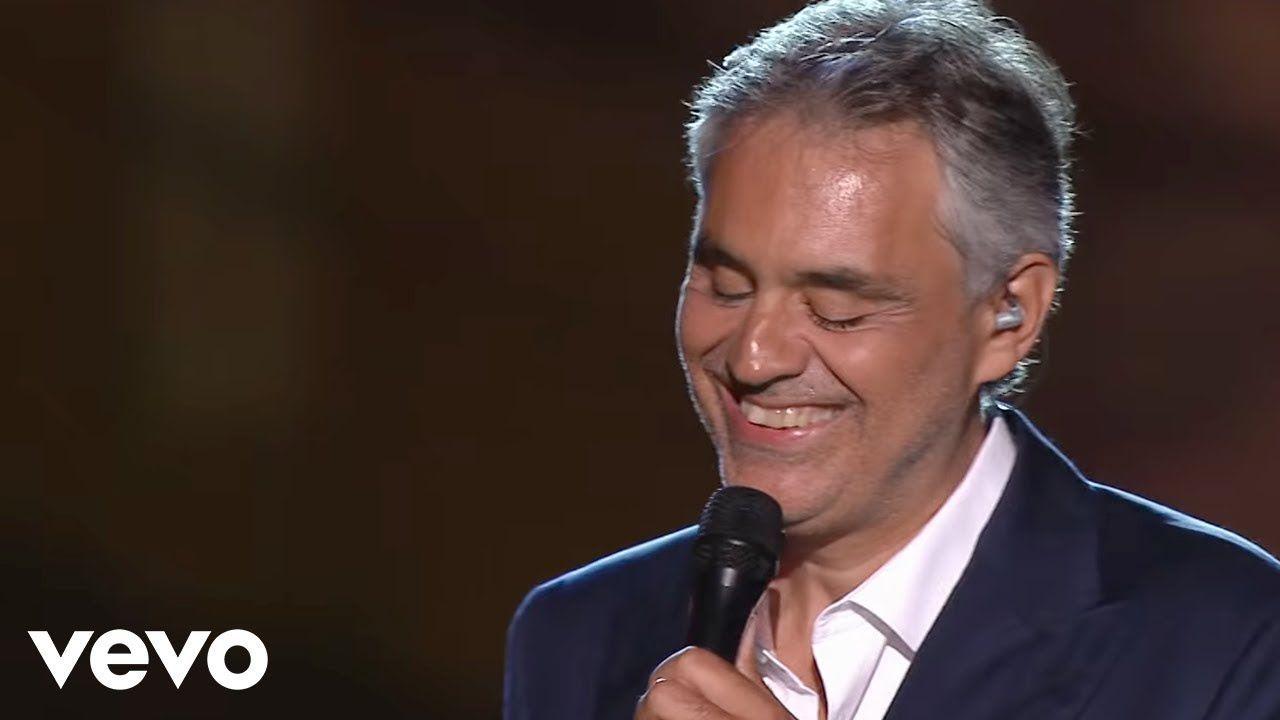 Andrea Bocelli Champagne Live 2012 Musica Cabelo