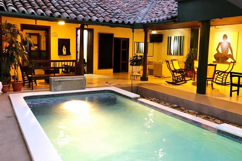 Hotel San Juan De León Hoteles En Nicaragua Outdoor Decor Hot Tub Outdoor