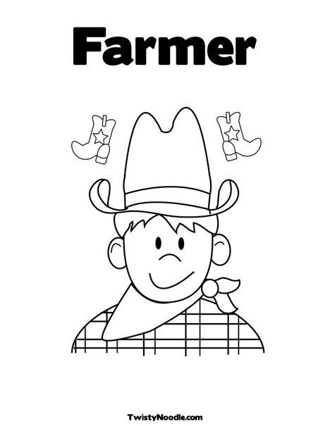 coloring pages farmers - photo#18