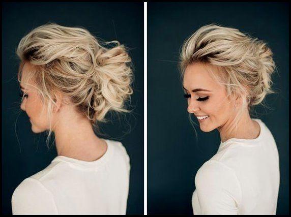10 peinados impresionantes: diseños de peinado Bun Updo para mujeres Bob peinados