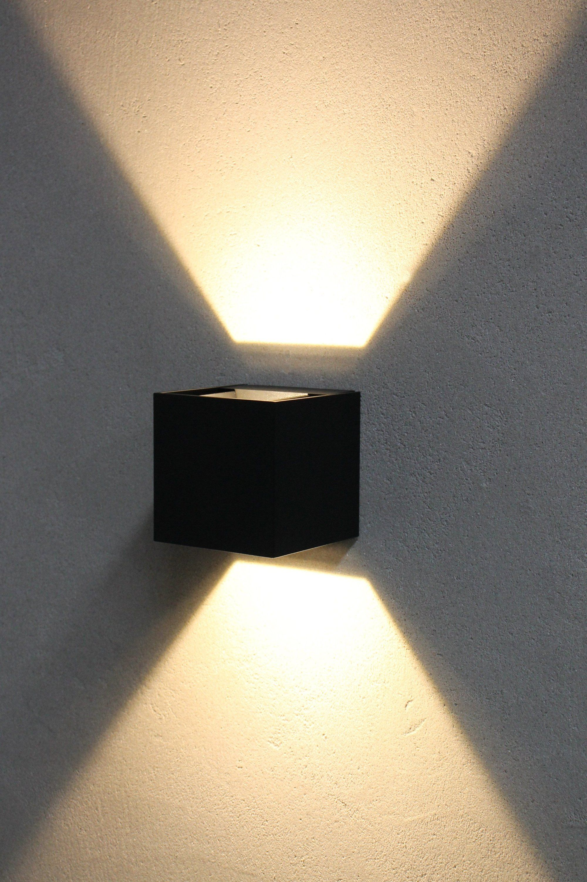 Led Up Down Outdoor Wall Light Wall Lights Outdoor Wall Lighting Outdoor Walls