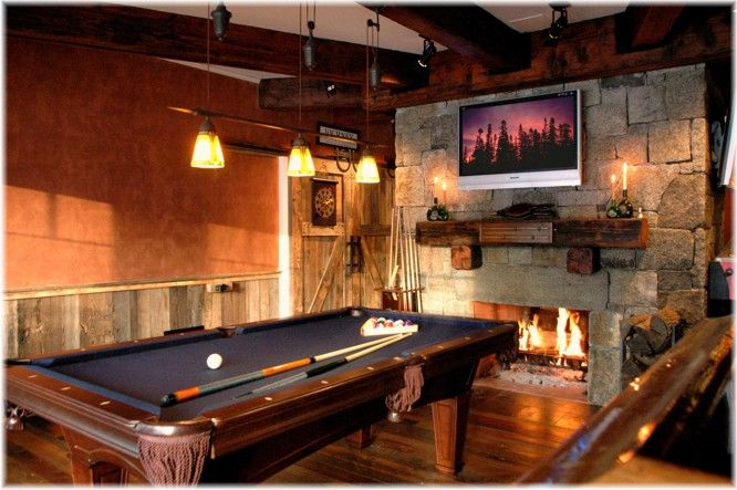 Man Cave Basement Fireplace Design Ideas Basement Fireplace Man