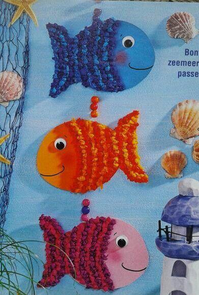 Laboratori per bambini estivi   Lavoretti con i pesci ...