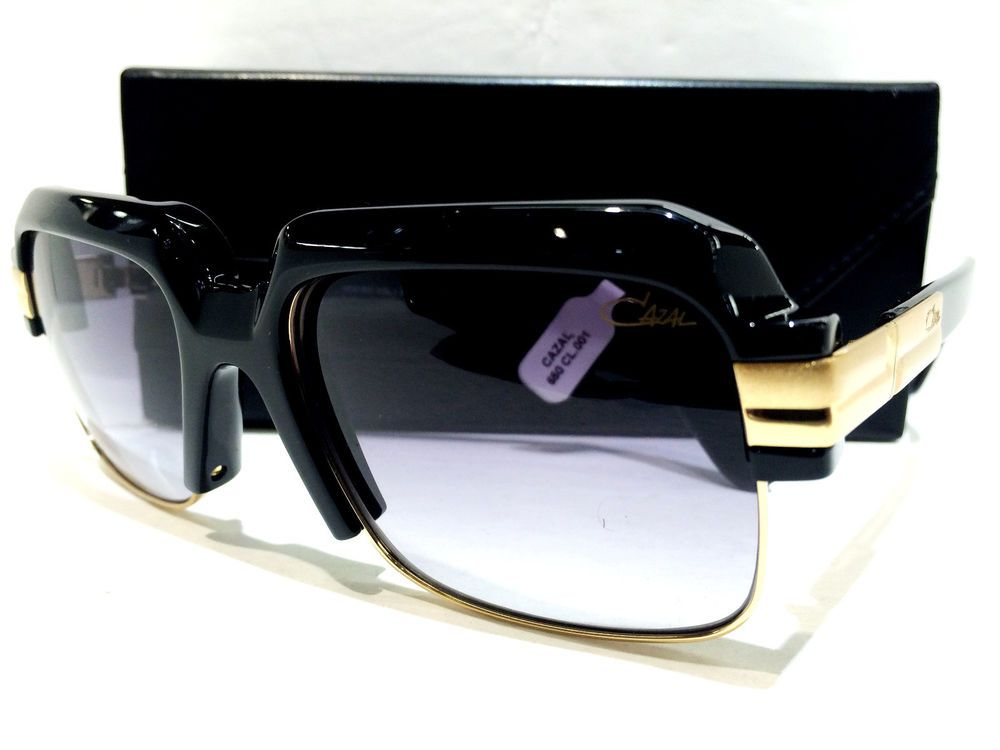 98821f5bec1 AUTHENTIC  CAZAL Sunglasses MOD 670 COL 1 56-18 140  CAZAL ...
