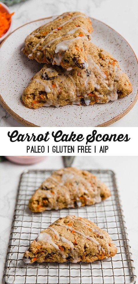 Carrot Cake Protein Cookies (Paleo, AIP) - Unbound Wellness