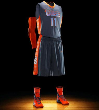 Nike unveils new gray uniforms for Syracuse and other college ... 14b1adc6f