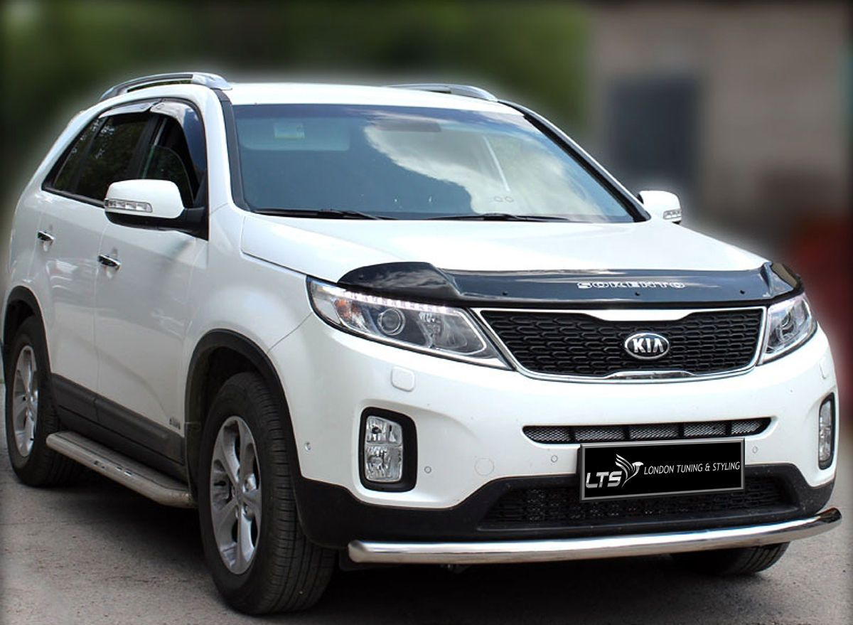 kia sorento spoiler bullbar single spoiler bar nudge. Black Bedroom Furniture Sets. Home Design Ideas