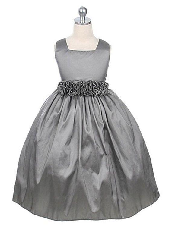 a22faf360f Flower girl dress Taffeta Flower Girl Dress Sizes by onlineDress- I LIKE  THIS MATERIAL