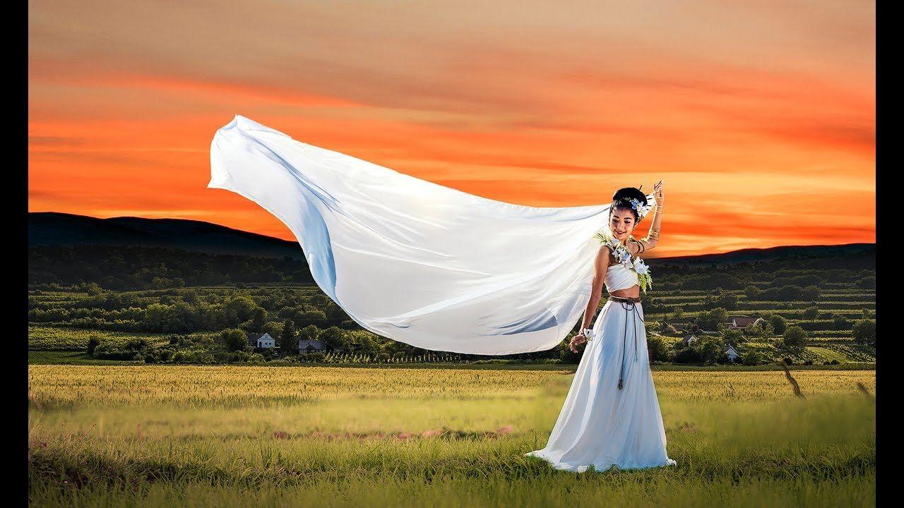 Wedding Bride Photoshop Photo Manipulation Tutorial Photoshop
