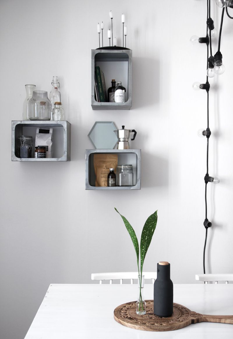 Love these hanging storage cubbies!