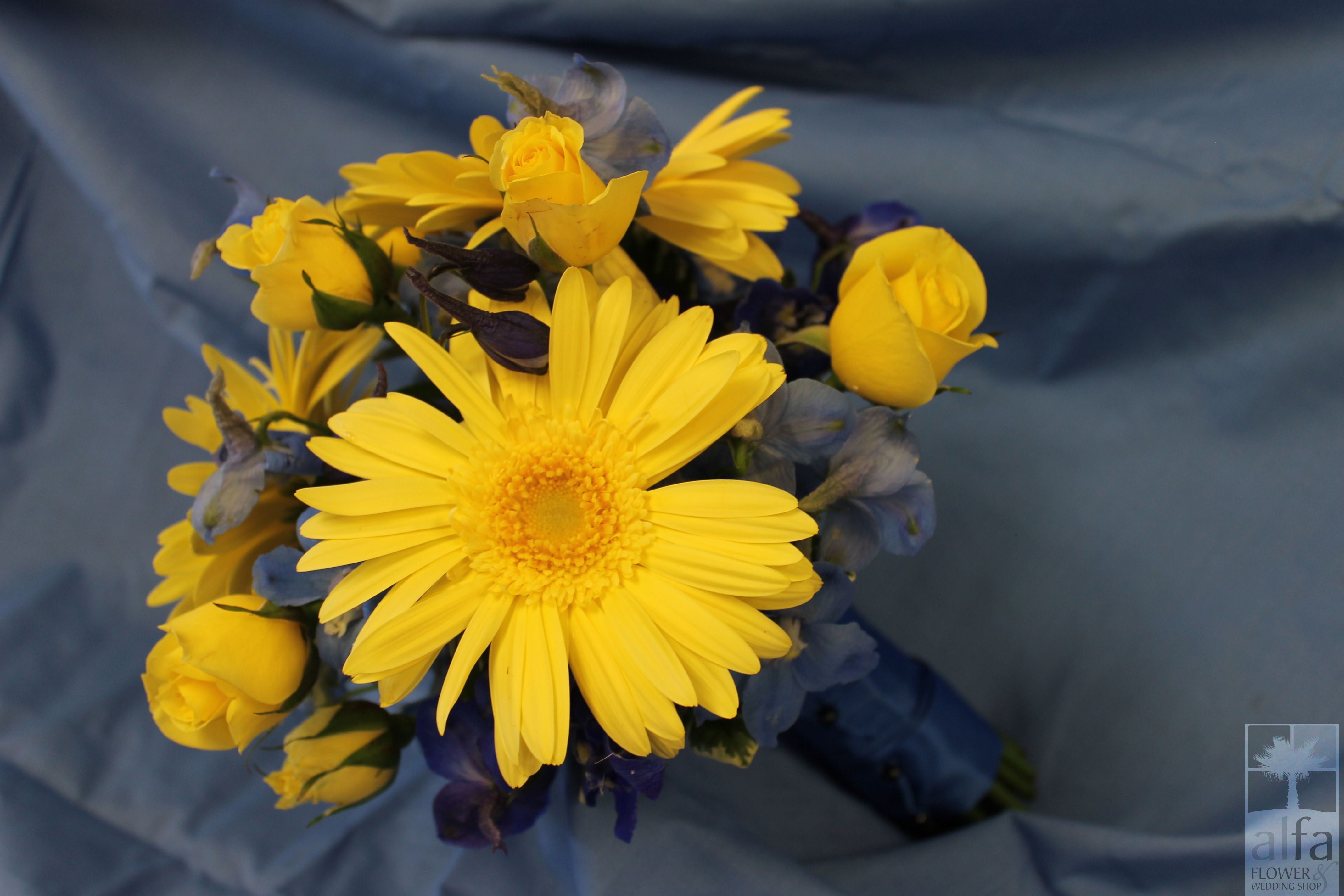 Beautiful flowers for any shade of blue!
