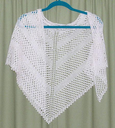 Simple Yarn Over Shawl By Mary Joy Gumayagay Free Knitted Pattern
