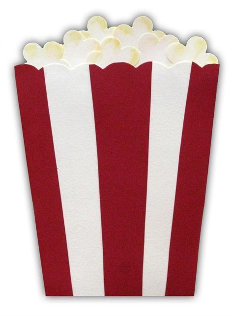 Movie Night Party Invitation Pass The Popcorn Press Play