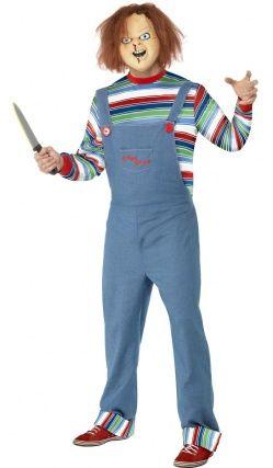 Garçons CHUCKY Costume Childs Killer Poupée Halloween Déguisements Enfants Costume
