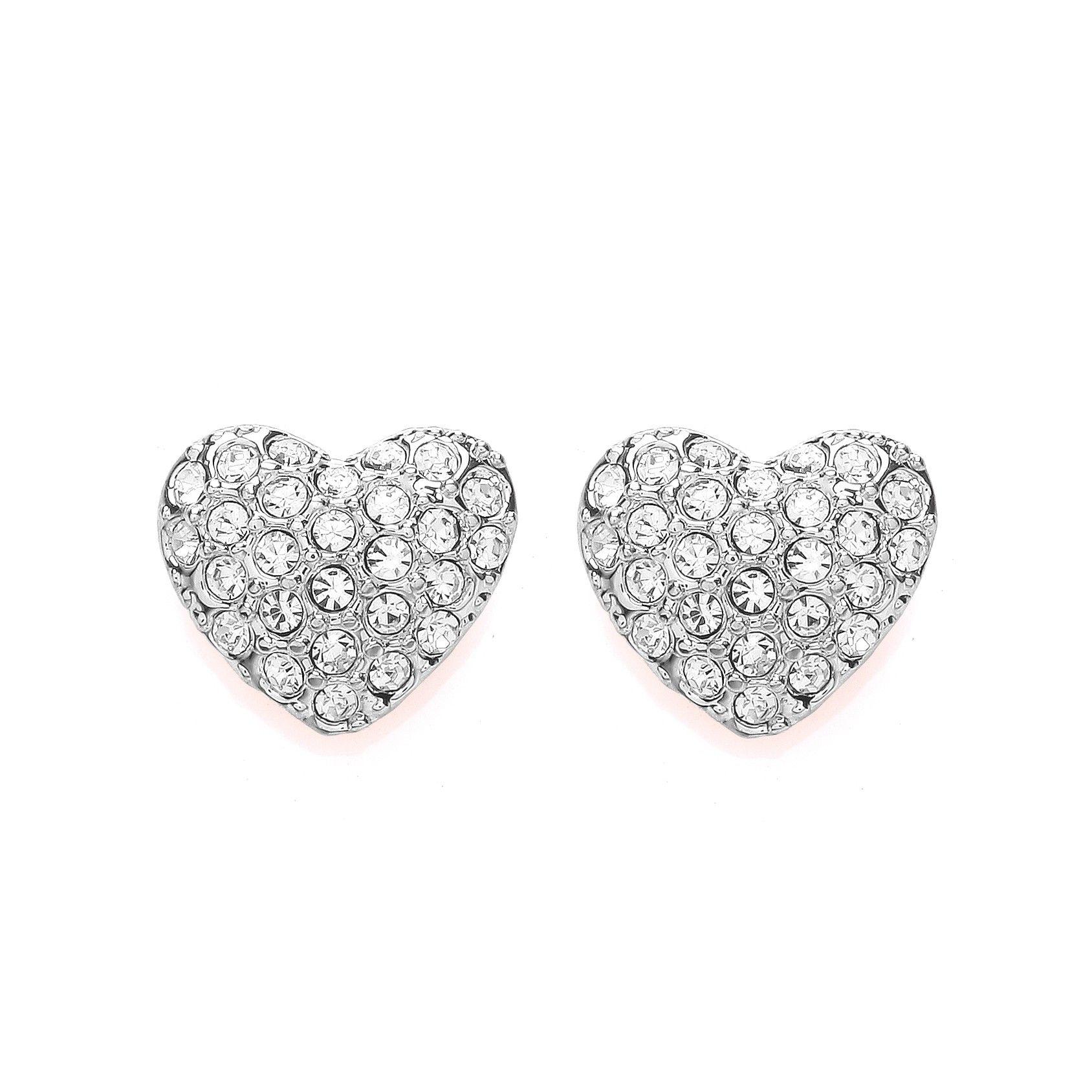 The Buckley London Miniature Heart Stud Earrings Buckleylondon