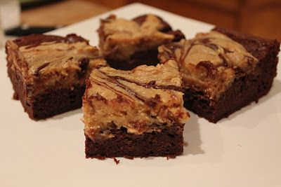 peanut butter cheesecake swirl brownies.. need i say more