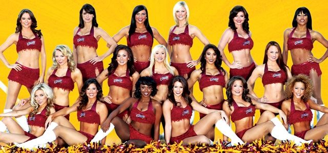 on sale 1211e 7993a Cleveland Cavaliers Girls Swimsuit Calendar | Cavalier Girls ...