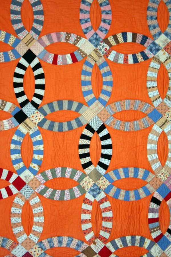 double wedding ring quilts 1930s - Bing Images