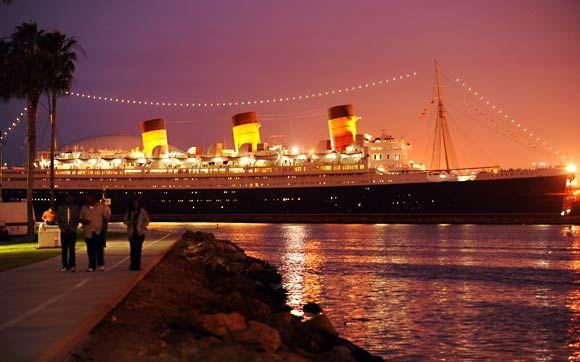 Queen Mary San Pedro Queen Mary Ship Queen Mary San Pedro