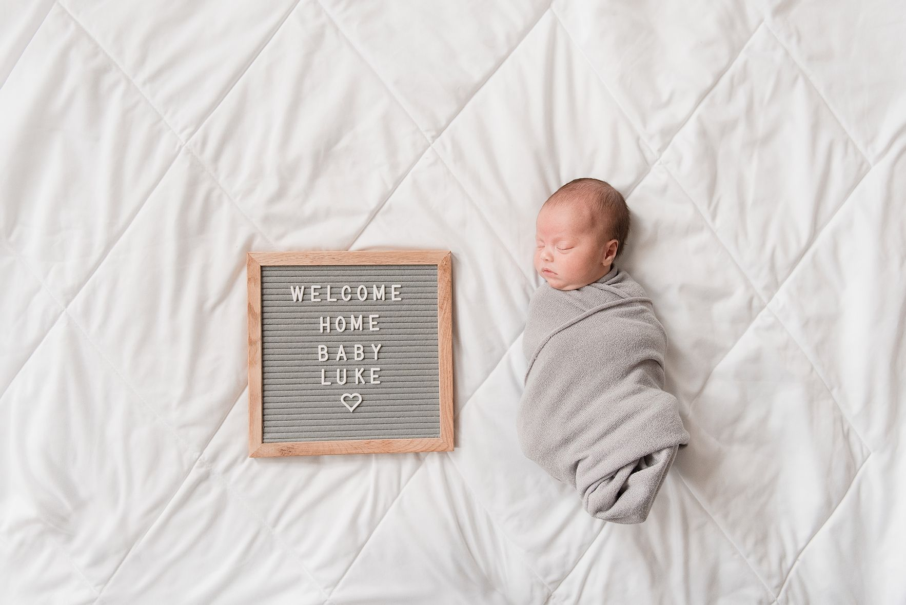 welcome home baby | newborn social media announcement | newborn pose ...