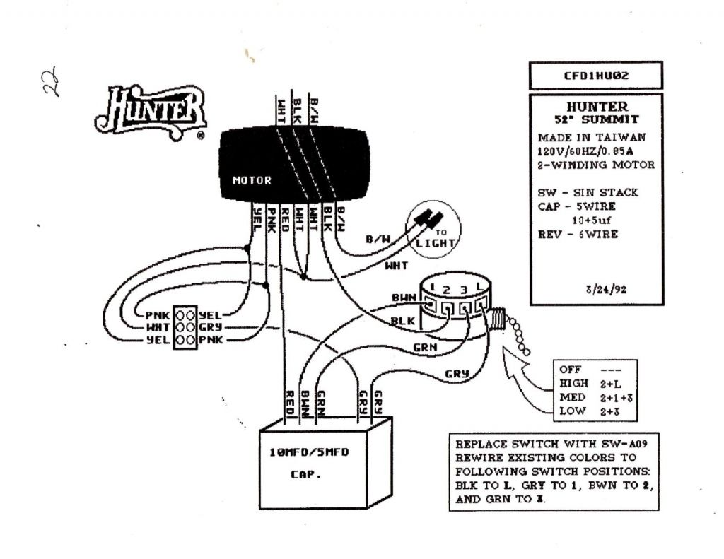 Ceiling Fan Speed Control Switch Wiring Diagram with