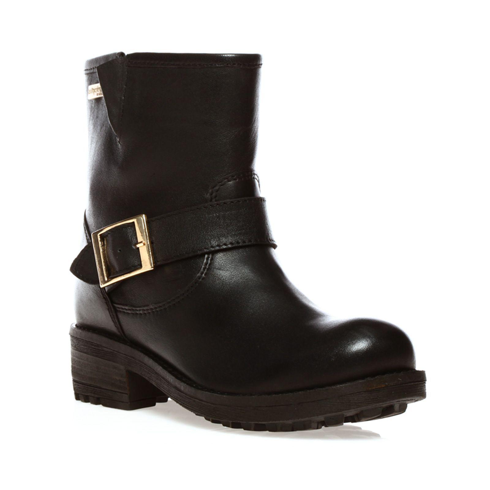 72e8cef04783 Boots Cristal en cuir noir - Les Tropéziennes par M Belarbi - Nouvelle  Collection et ventes