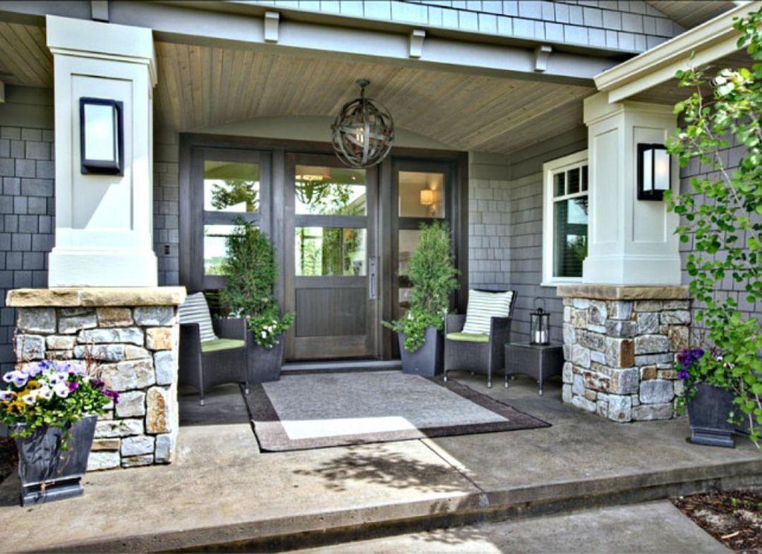 Front Door Entrance Decorating — Design & Decorating